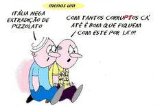 A opção de Dilma para a embaixada do Brasil na Itália | Humor Político