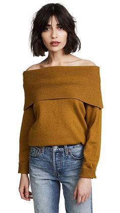 Moon River Off Shoulder Sweater | SHOPBOP