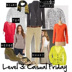 The 5 Levels of Working Mom Outfits: Level 3 casual Friday