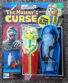 The Mummy's Curse Monster Toy Figure