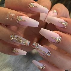 223 Best Long Nail Designs Images On Pinterest In 2018 Acrylic
