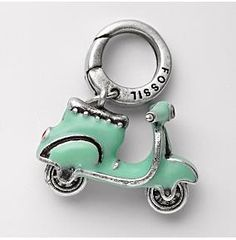 My newest obsession, fossil charms! I just order this one and another...love them!