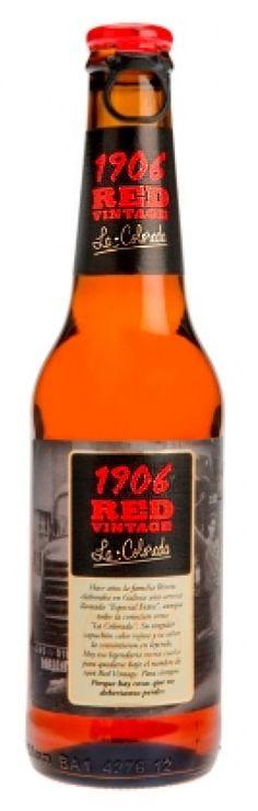 1906 Red Vintage / Cerveza española de tipo Euro Strong Lager de color tostado y espuma densa / Alcohol 8% / BA SCORE - no score