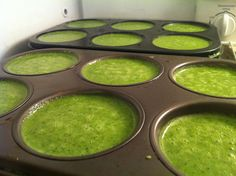 Detox Green Smoothie Concentrate - when ready, just pop one in a blender with water or coconut water, blend, and enjoy.