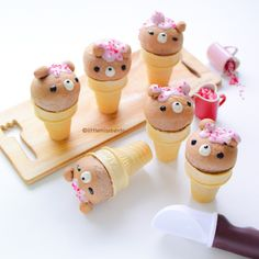 Bear Bread in a Cone Cup! Aren't these bear bread buns baked inside the ice cream cone cups the cutest? I am sure you have seen cone cupcakes or cakes in cone cups, but bread is such a brand new idea right? :) So excited to be sharing this original recipe with you. I am Continue Reading