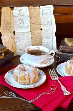 """""""I don't mind some cake - seed-cake, if you have any.""""   """"Lots!"""" Bilbo found himself  answering, to his own surprise; and he found hi..."""