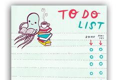 Print It, Finish It: Great Paper To-Do Lists