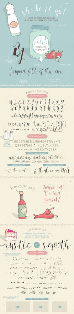 Salt & Pepper font from Lisa Glanz. Love it!