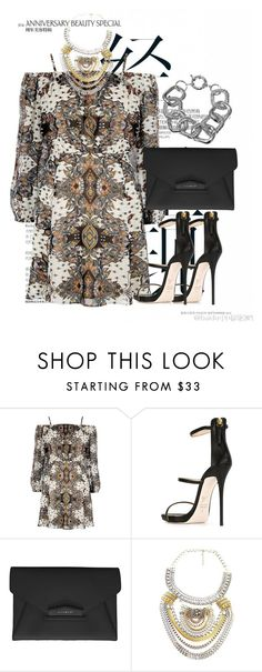 Fancy Boho by bianca-2904 on Polyvore featuring moda, River Island, Giuseppe Zanotti and Givenchy