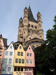 Klosterkirche Groß Sankt Martin, Köln by Richard Tapp on 500px