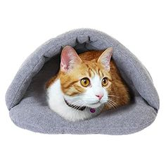 C-Pioneer Winter Soft Cozy Warm Pet Cat Dog Puppy Nest Cave House Sleeping Mat Pad -- Details can be found by clicking on the image. (This is an affiliate link and I receive a commission for the sales)
