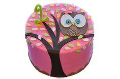 owl birthday cake, @Sara Craft