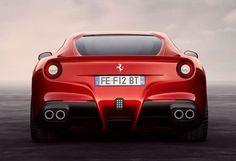 Ferrari F12 Berlinetta - great ass