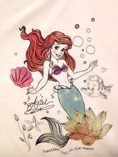 リトル・マーメイドの主人公の人魚姫です! めっちゃかわいいです! フランダーとい...|『アリエルって何?』への回答の画像2。ディズニー,リトル・マーメイド。
