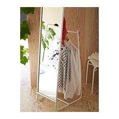KNAPPER Floor mirror  - IKEA - love the behind the mirror storage!  and not a bad price either.