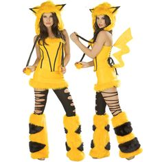Yellow Mouse Costume #atomicjaneclothing