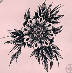 Stuff to do Tattoos Bein, Elbow Tattoos, Body Art Tattoos, Black Tattoos, Tattoos For Guys, Sleeve Tattoos, Dotwork Tattoo Mandala, Mandala Tattoo Sleeve, Traditional Mandala Tattoo