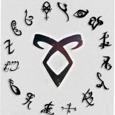Love this photo of runes!