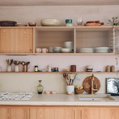 Image result for light pink kitchen