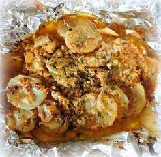 Recipe Yummy |   Campfire Potatoes
