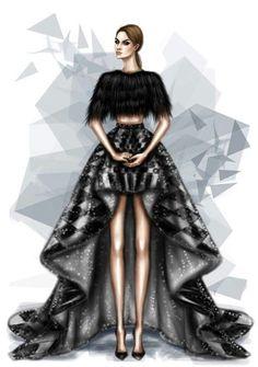 Fashion illustration // Shamekh Bluwi