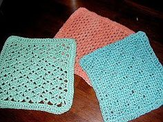 Crocheted Washcloths: Snapdragon | Little House in the Suburbs