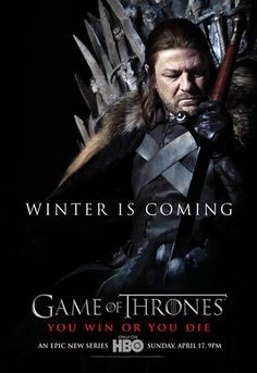 Eddard (Ned) Stark from the Game of Thrones Eddard Stark Game Of Thrones Promo, Game Of Thrones Online, Game Of Thrones Saison, Game Of Thrones Episodes, Game Of Thrones Winter, Watch Game Of Thrones, All Episodes, Eddard Stark, Ned Stark