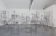 Mar Hernández excava entre las ruinas del tiempo con su arte. Descubre a esta original artista española que transforma espacios abandonados y los hace suyos