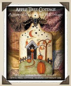 "E Pattern - Martha Smalley's Apple Tree Cottage Designs - ""Autumn at Persimmon Cottage"""