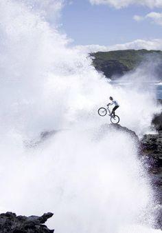 Surf's up! #mtb