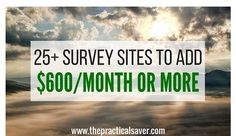 Looking for best paid surveys? Then, this post is for you. You can make hundreds each month with these surveys. My wife and I earn at least $150