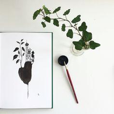 126/365 | Micaela Wernberg | 365-days illustration project
