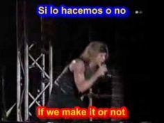 Livin on a prayer -  Bon Jovi  ( SUBTITULADO INGLES ESPAÑOL )