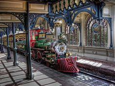Disney Paris train by BreakerSteve, via Flickr