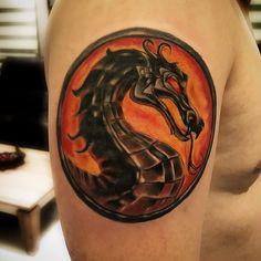 Mortal combat dövmesi tattoo artist onur yücel www.tattooturk.com