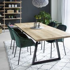Kitchen Dining, Dining Room, Dining Table, Plank Table, Dining Furniture, Solid Oak, Decoration, Interior Design, House
