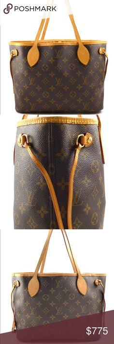 Authentic Louis Vuitton Neverfull PM | Louis vuitton ...