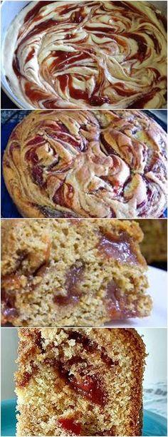 Bolo Mesclado de Goiabada…LINDO E DELICIOSO!! ❤️ VEJA AQUI>>>Unte a forma (usando um pouco da manteiga para o bolo) e peneire com farinha de trigo. Pré-aqueça o forno a 180º C. #receita#bolo#torta#doce#sobremesa#aniversario#pudim#mousse#pave#Cheesecake#chocolate#confeitaria