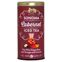 Sonoma Cabernet Iced Tea. Not sure if I'd like it, but I bet my sister & her husband might