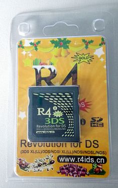 R4i gold 3DS Flashcard für 2DS/3DS/LL/XL V11-2-0-35E und DSi/LL V1.4.5