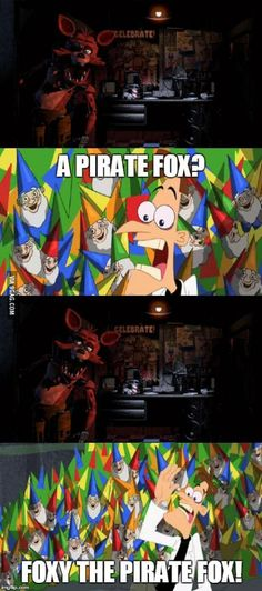 A Pirate Fox? | Five Nights at Freddy's