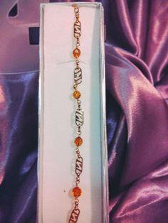 Pulsera Cristal Amarillo - $ 259.00 en MercadoLibre
