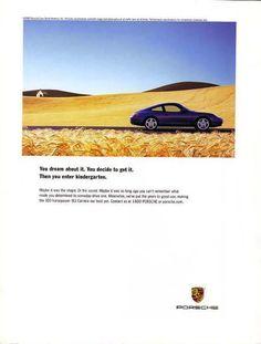 Porsche dreaming....