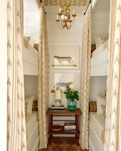 Beautiful bunk room by Heather Chadduck for the Southern Living Idea House! Bunk Rooms, Decor, House, Interior, Southern Living Homes, Country House Decor, Southern Living, Stylish Bedroom Design, Home Decor