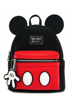 03282802cd4 Loungefly x Disney Mickey Suit Mini Backpack Sac A Dos Mickey