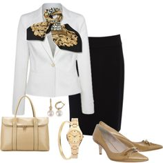 Work Day Monday by annabouttown on Polyvore featuring Joan & David