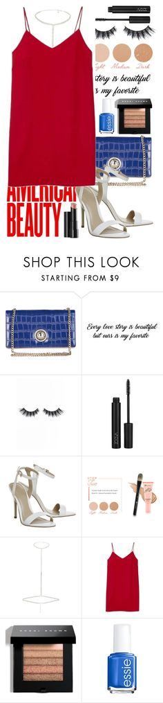 """""""#2"""" by heremyworld on Polyvore featuring Versace, Violet Voss, BHCosmetics, River Island, Alexia Ulibarri, Arbonne, Bobbi Brown Cosmetics, Essie and americanbeauty"""