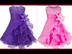 0d1ff38016 How to make latest quinceanera ruffled organza party wear with rhinestones  (Hindi Version). Baby Frock PatternFrock PatternsGirl ...