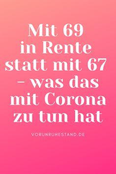 Sollen die Deutschen künftig bis 69 arbeiten? Weil Deutschlands Schulden wachsen, wird der Ruf nach einer Erhöhung des Renteneintrittsalters immer lauter. Deutschland versinkt im Schuldensumpf – da bleibt künftig für Rentner immer weniger übrig. Weil die Rentenkasse leer ist und die EZB ihre Rücklagen entwertet, werden die Deutschen länger arbeiten müssen. Das Renteneintrittsalter wird über kurz oder lang von 67 auf 69 angehoben. #rentenalter #rente #vorunruhestand #corona Calm, Corona, Retirement