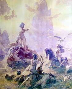 Art Sharing #15: Norman Lindsay (traditional media painting & etching) - the eclectic ecstasy of an ecphorizing eccentric